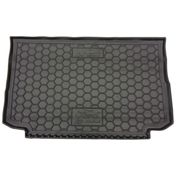 Автомобильный коврик в багажник Ford B-Max 2013- верхняя полка (Avto-Gumm)