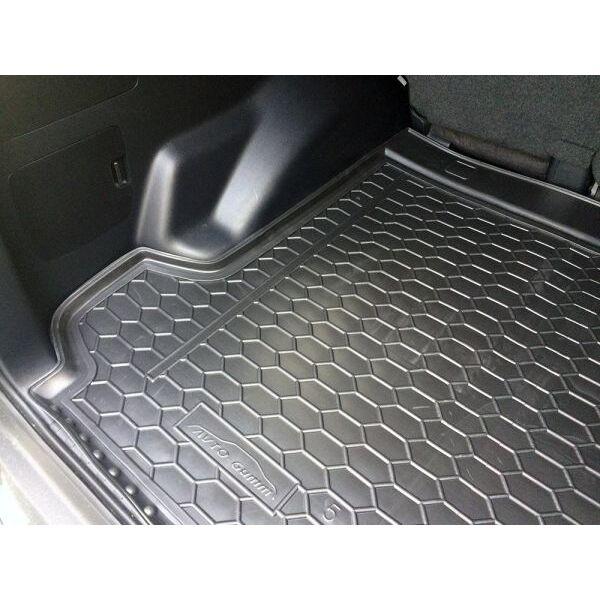 Автомобильный коврик в багажник Toyota Land Cruiser Prado 150 2018- (5 мест) (Avto-Gumm)