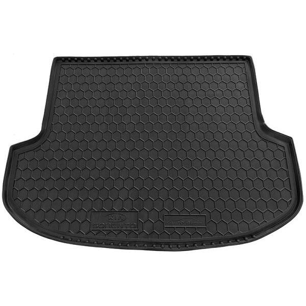 Автомобильный коврик в багажник KIA Sorento 2009-2015 (5 мест) (Avto-Gumm)
