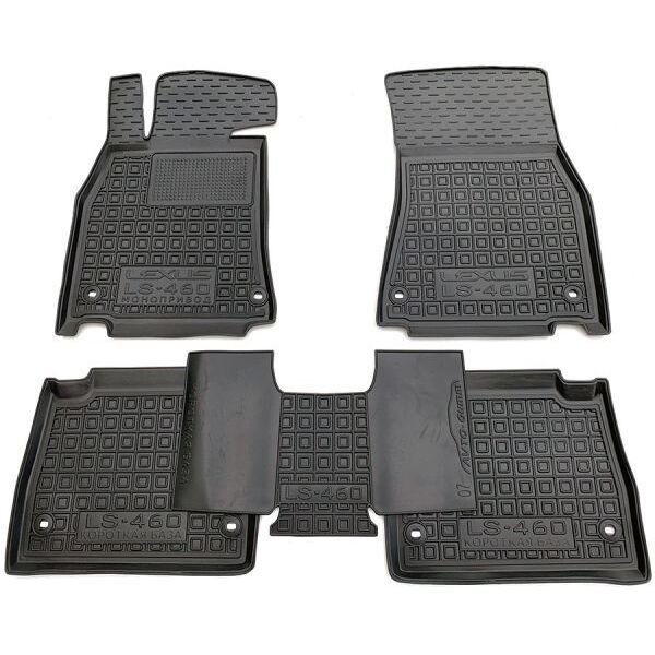 Автомобильные коврики в салон Lexus LS 460 2007- стандартная база (Avto-Gumm)