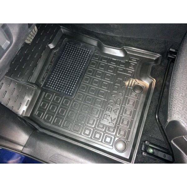 Водійський килимок в салон Renault Kadjar 2016- (Avto-Gumm)