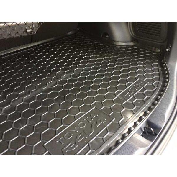 Автомобильный коврик в багажник Toyota RAV4 2013- (докатка) (Avto-Gumm)