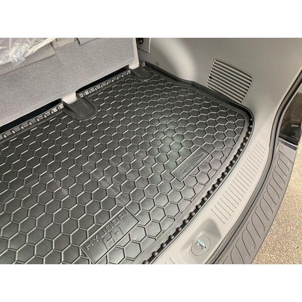 Автомобильный коврик в багажник Hyundai H1 2007- пассажирский (Avto-Gumm)