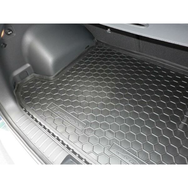 Автомобильный коврик в багажник Hyundai Tucson 2016- (Avto-Gumm)