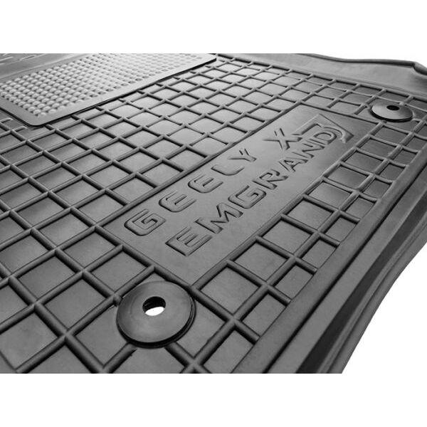 Водительский коврик в салон Geely Emgrand X7 2013- (Avto-Gumm)