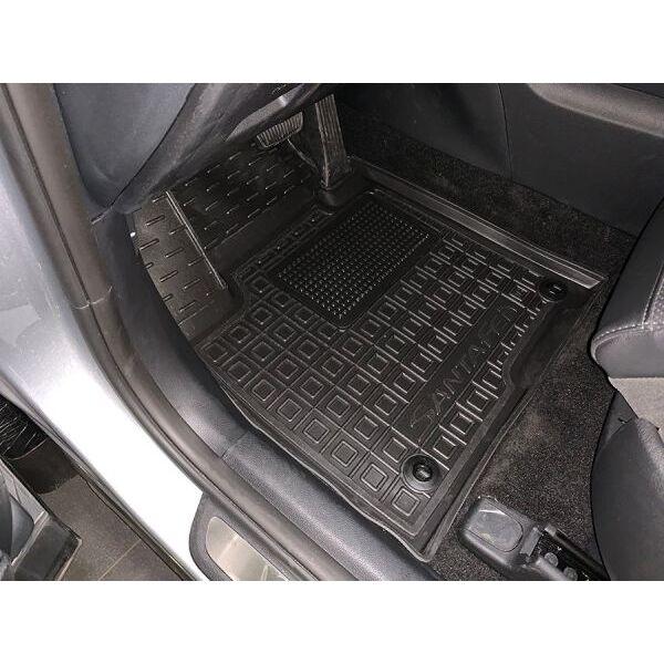 Автомобильные коврики в салон Hyundai Santa Fe 2018- (Avto-Gumm)
