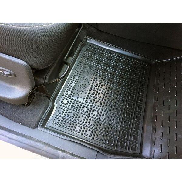 Передние коврики в автомобиль Renault Scenic 3 2009- (Avto-Gumm)