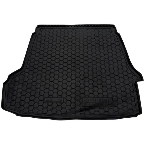Автомобильный коврик в багажник Hyundai Sonata NF/6 2005- (Avto-Gumm)