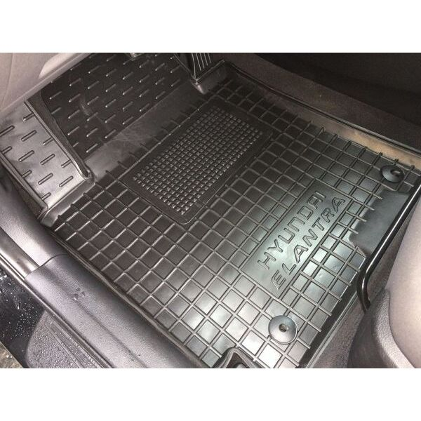 Водительский коврик в салон Hyundai Elantra 2011-2016 (MD) (Avto-Gumm)