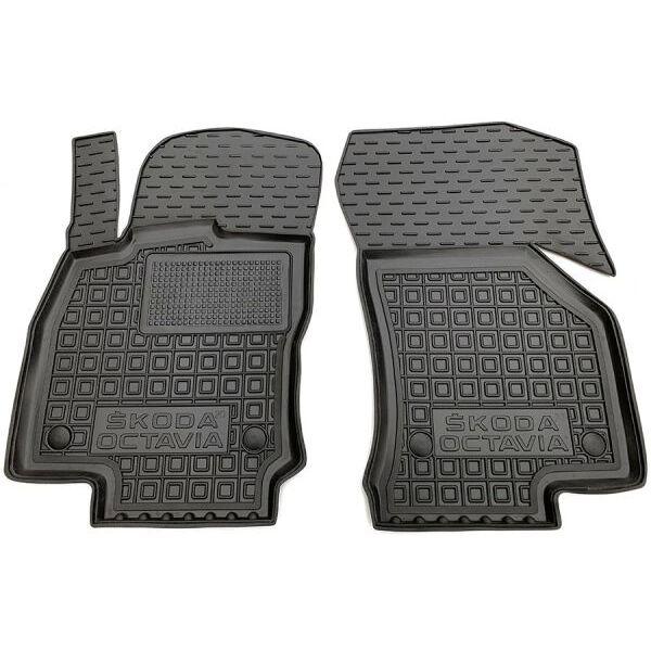Передние коврики в автомобиль Skoda Octavia A8 2020- (AVTO-Gumm)