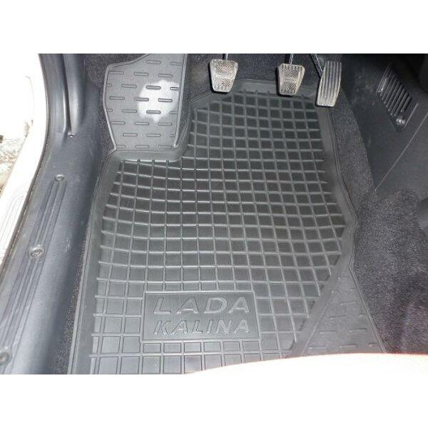 Автомобильные коврики в салон ВАЗ Lada Kalina 04-/Granta 11- (Avto-Gumm)