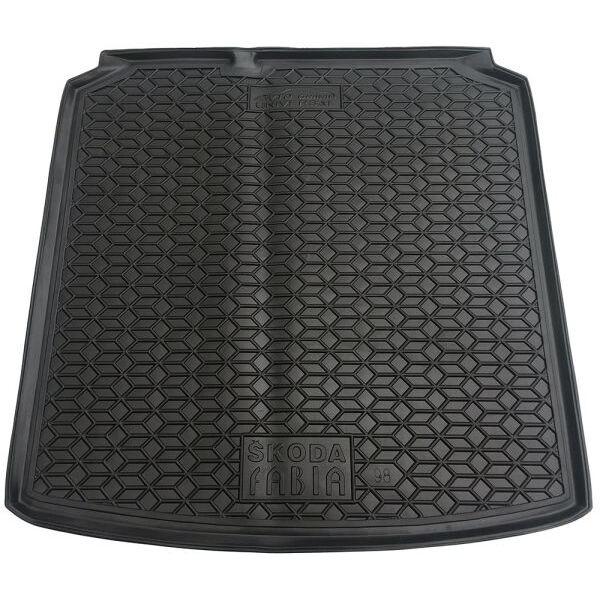 Автомобильный коврик в багажник Skoda Fabia 2000- Universal (Avto-Gumm)