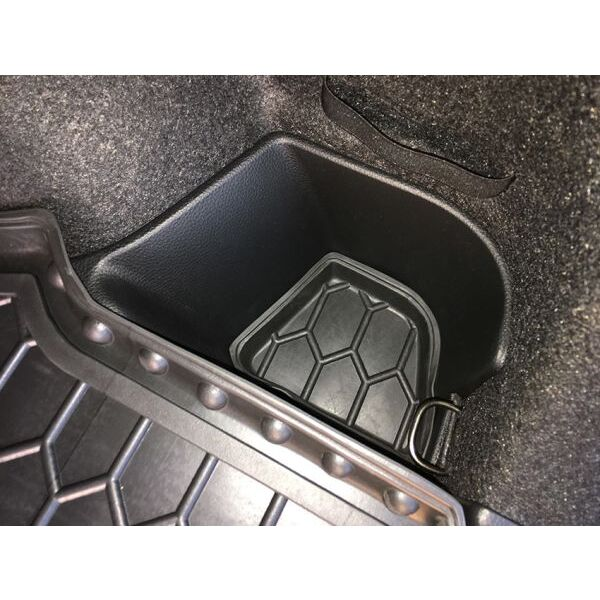 Автомобильный коврик в багажник Nissan Qashqai 2017- FL верхняя полка (Avto-Gumm)