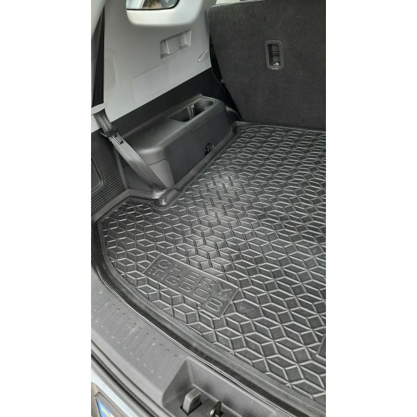 Автомобильный коврик в багажник Chery Tiggo 8 2018- 7 мест (Avto-Gumm)