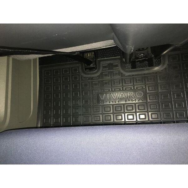 Автомобильные коврики в салон Renault Trafic 2 02-/Opel Vivaro 02- (3-й ряд) (Avto-Gumm)