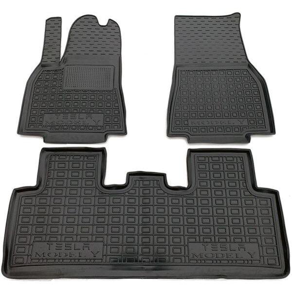 Автомобильные коврики в салон Tesla Model Y 2020- (AVTO-Gumm)