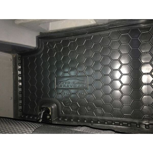 Автомобильные коврики в салон Volkswagen T5 Caravelle 2010- (2-й ряд) без печки (Avto-Gumm)