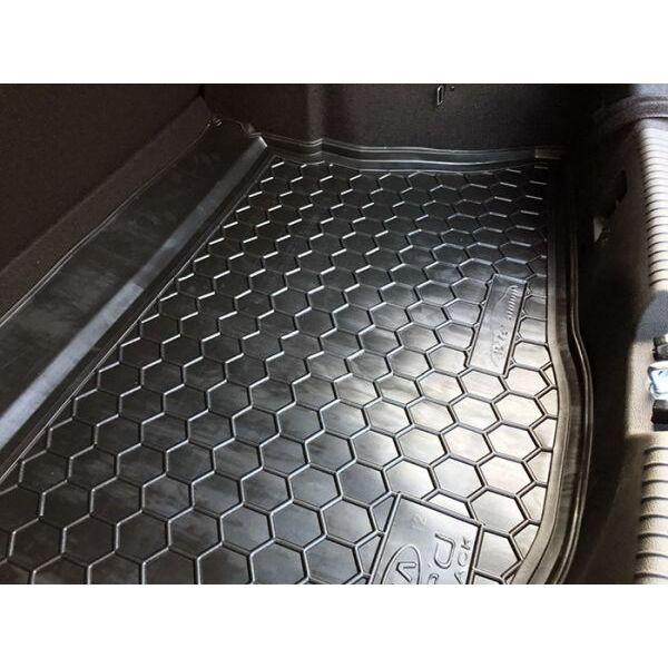 Автомобильный коврик в багажник Kia Ceed (JD) 2012- Hatchback (base/mid) (Avto-Gumm)