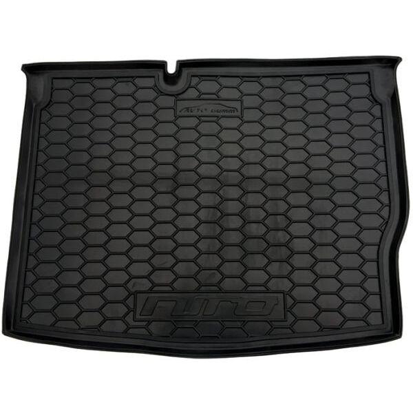 Автомобильный коврик в багажник Kia Niro 2016- (Avto-Gumm)