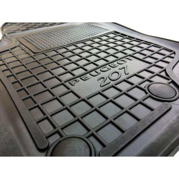 Водительский коврик в салон Peugeot 207 2006- (Avto-Gumm)