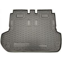 Автомобильный коврик в багажник Toyota Previa 2000-2006 6-7 мест (Avto-Gumm)