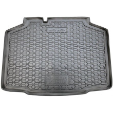 Автомобильный коврик в багажник Skoda Kamiq 2020- (AVTO-Gumm)