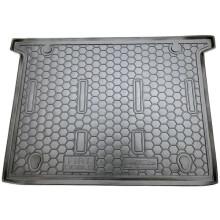 Автомобільний килимок в багажник Fiat Doblo 2010- 7 мест (Avto-Gumm)