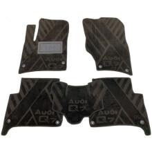 Текстильные коврики в салон Audi Q7 2005-2015 (AVTO-Tex)