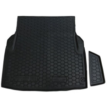 Автомобильный коврик в багажник Mercedes E (W212) 2009- Sedan (Elegance) (Avto-Gumm)