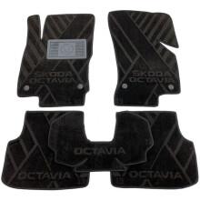 Текстильные коврики в салон Skoda Octavia A7 2013- (AVTO-Tex)