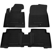 Автомобільні килимки в салон Hyundai Santa Fe (DM) 2012- (Avto-Gumm)