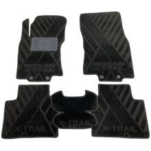 Текстильные коврики в салон Nissan X-Trail (T32) 2014- (AVTO-Tex)