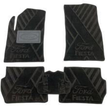 Текстильні килимки в салон Ford Fiesta 2002-2008 (AVTO-Tex)