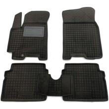 Гибридные коврики в салон Chevrolet Aveo 2003-2012 (AVTO-Gumm)