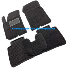 Гибридные коврики в салон Chevrolet Aveo 2012- (Avto-Gumm)