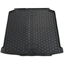 Автомобільний килимок в багажник Skoda Fabia 2 2007- Universal (Avto-Gumm)