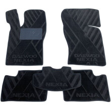 Текстильные коврики в салон Daewoo Nexia 98-/08- (AVTO-Tex)