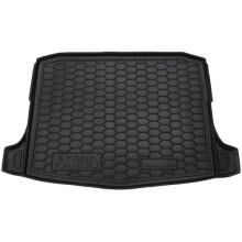 Автомобильный коврик в багажник Skoda Karoq 2018- (Avto-Gumm)