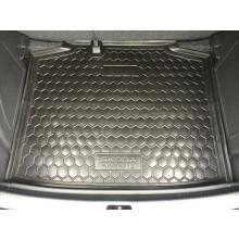 Автомобильный коврик в багажник Skoda Rapid 2013- Spaceback (Avto-Gumm)