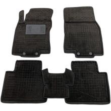 Гибридные коврики в салон Nissan X-Trail (T32) 2014- (AVTO-Gumm)