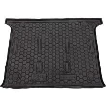 Автомобільний килимок в багажник Fiat Doblo 2010- 5 мест (Avto-Gumm)