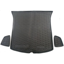 Автомобильный коврик в багажник Tesla Model Y 2020- (AVTO-Gumm)
