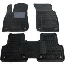 Гібридні килимки в салон Audi Q8 2018- (AVTO-Gumm)
