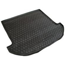 Автомобільний килимок в багажник Hyundai Santa Fe (DM) 2012- 7 мест (Avto-Gumm)