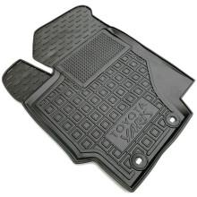 Водительский коврик в салон Toyota Yaris 2011- (Avto-Gumm)