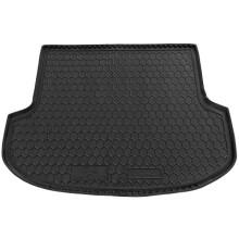 Автомобільний килимок в багажник KIA Sorento 2009-2015 (5 мест) (Avto-Gumm)