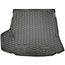 Автомобильный коврик в багажник Toyota Corolla 2007-2013 (Avto-Gumm)