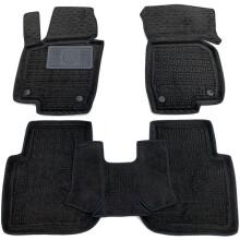 Гібридні килимки в салон Volkswagen Passat B7 2011- USA (AVTO-Gumm)