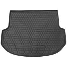 Автомобільний килимок в багажник Hyundai Santa Fe (DM) 2012- 5 мест (Avto-Gumm)