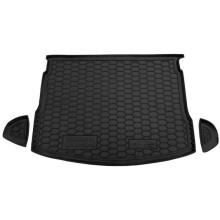 Автомобильный коврик в багажник Nissan Qashqai 2007-2010 (Avto-Gumm)